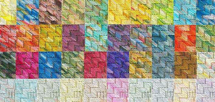 Painters Threads Farbkarten