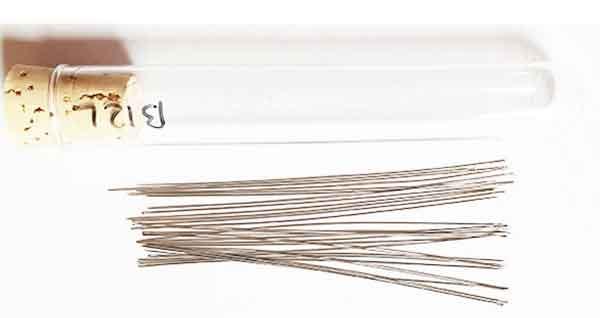 Lange Perlennadel Long Beading Needle