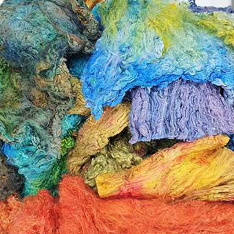 Painters Silk Cocoon Sheet Farbmix