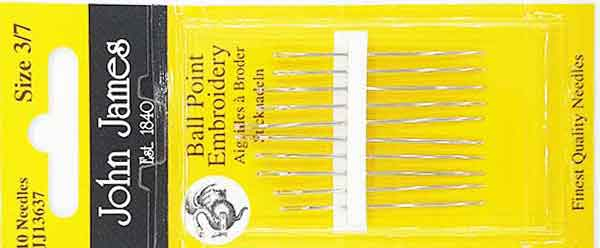 Tapisserie Sticknadel Ballpoint Embroidery Needle