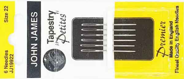 Petites Tapisserienadel Petites Tapestry Needle
